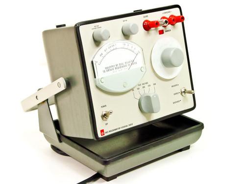 General Radio 1863  Megohmmeter