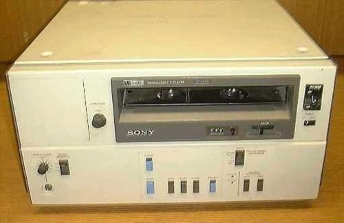 "Sony VP-5000  U-Matic 3/4"" Video Player"