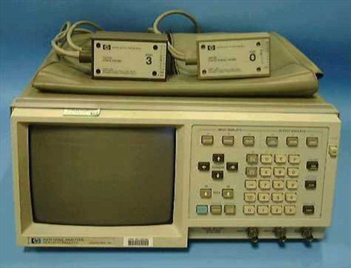 HP 1631D  Logic Analyzer upgraded from 1630