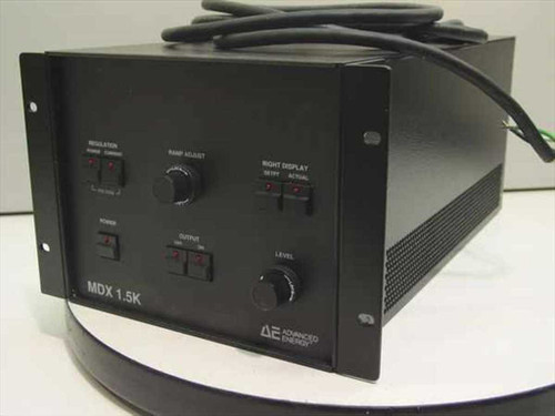Advanced Energy AE MDX 1.5K  1.5kW DC Plasma Generator Power Supply