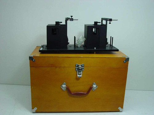 Applied Magnetics AB Alignment Assembly - Box in Wooden Case~!  EL97083713