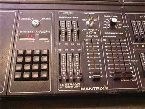 Strand Mantrix 2  48 Channel Two Scene Lighting Control Console