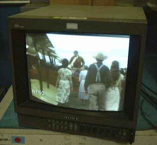 """Sony PVM-1354Q  13"""" Professional Color Monitor with BNC"""
