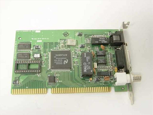 Novell 910-00018-001REVH  NE2000 PLUS 3 Ethernet Card - 9800004-02