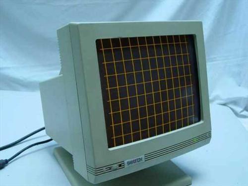 "Samtron SM-430  14"" 9-pin Amber Monochrome Monitor"
