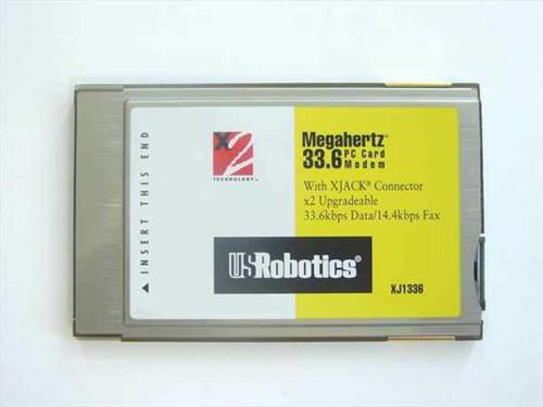 Megahertz XJ1336  33.6K XJACK PC Card Modem