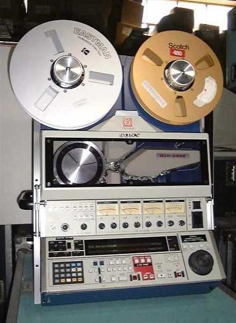 Sony BVH-2500  VideoCorder Broadcast VTR