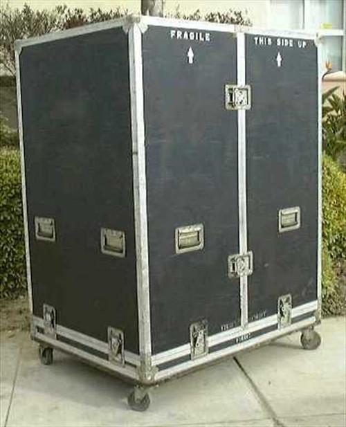 Bobadilla 45w33d55h  ATA Road Case with casters.