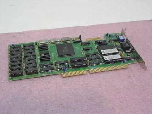 Western Digital 16BIT ISA VGA WD90C00-JK - WA-V77 (WD90C00)