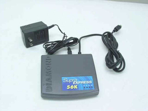 Diamond SupraExpress 56K External Fax Modem - 325500-16 SUP2430