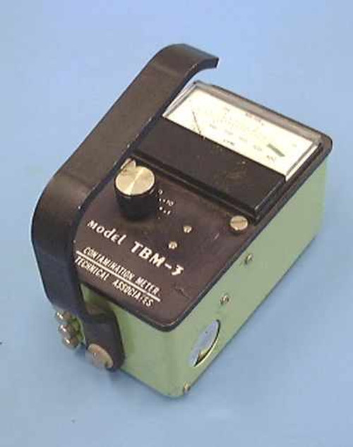 Technical Associates TBM-3  Portable Geiger Counter. Surface Contamination Mo