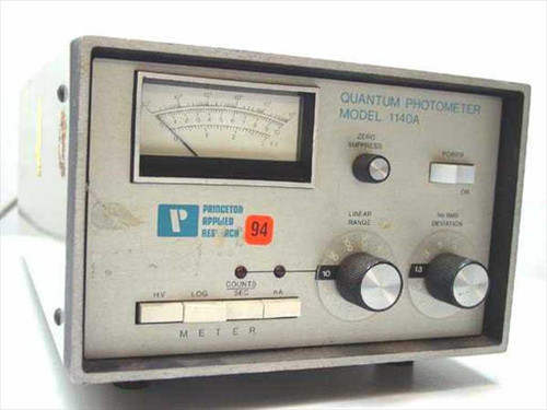 Princeton Applied Research 1140A  Quantum Photometer Electronic Controls
