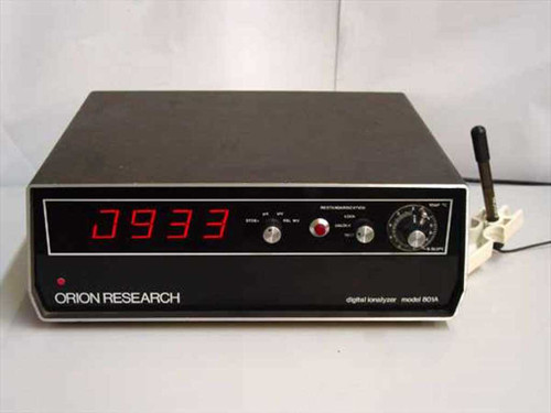 Orion Research 801A  Digital Ionalyzer with Probe