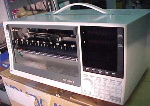 Yokogawa 371121  LR4110E Laboratory Chart Recorder