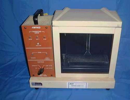 R.A. McDonald RAMCO S-14  Gross Leak bubble detection system