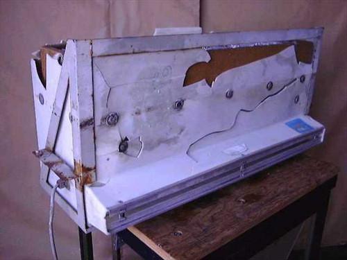 MARS Air Door HF-40  Mars Hepac Air Curtain - Needs Replacment Cover