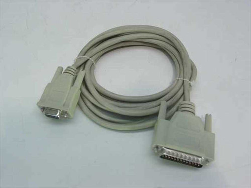 Generic DB-25 Male to DB-9 Female (Serial Modem Cable)