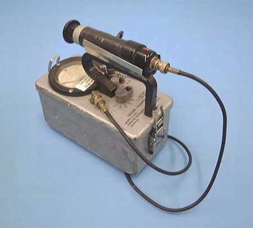 Eberline E-520  GM survey meter, Geiger counter
