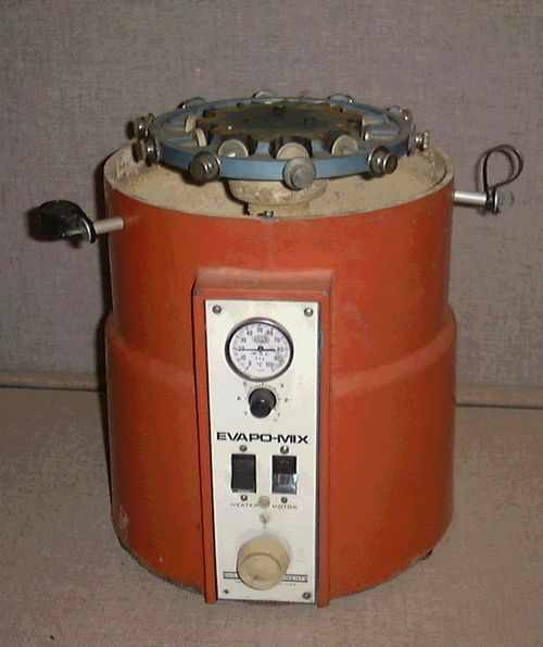 Buchler Instruments Evapo-mix  Heated centrifical mixer