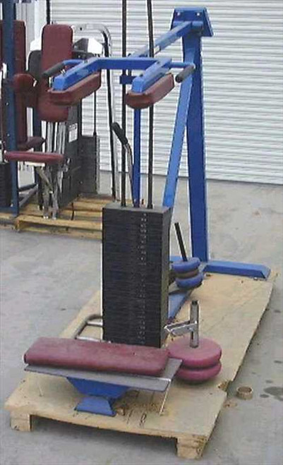 Ironco/Polaris CalfGym  Polaris Standing Calf Machine