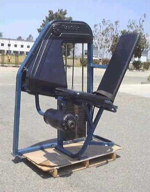 Nautilus LegEx  Leg Extension Machine. Approx. Wt. 160 lbs., Sta