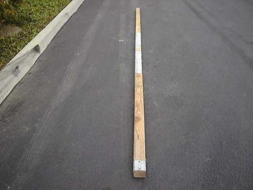 "US Orthopedic Tent Ridge Section Poles  17' Long x 3"" Ridge Sections Tent Poles"