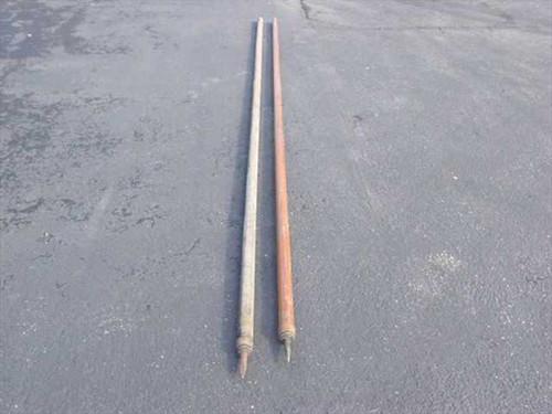 """Osk Kosh Tools Tent Poles  14' Long x 2"""" Diameter Tent Poles"""