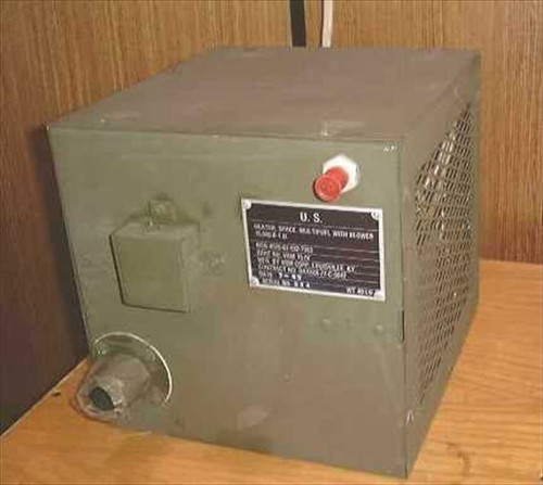 Military VBM 15-IV  Portable Multifuel Space Heater with Blower