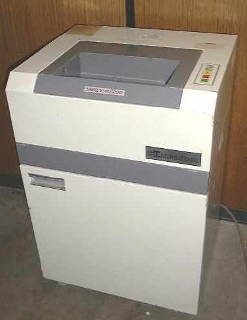 International Sec. Mch. Shrex-RX280  High Security Paper Shredder!