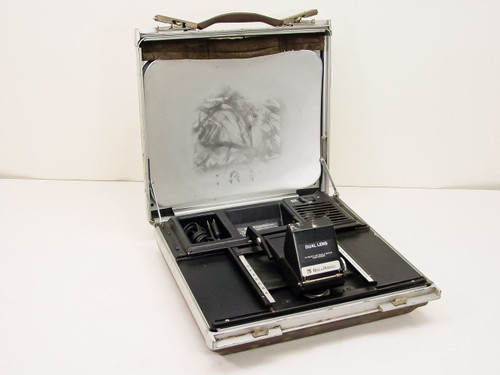 Bell & Howell Commuter (portable)  Microfiche Reader, folds up into suitcase - parts