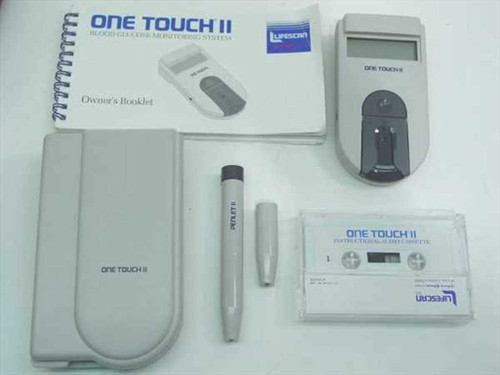 Lifescan One Touch II   Blood Glucose Monitoring Kit