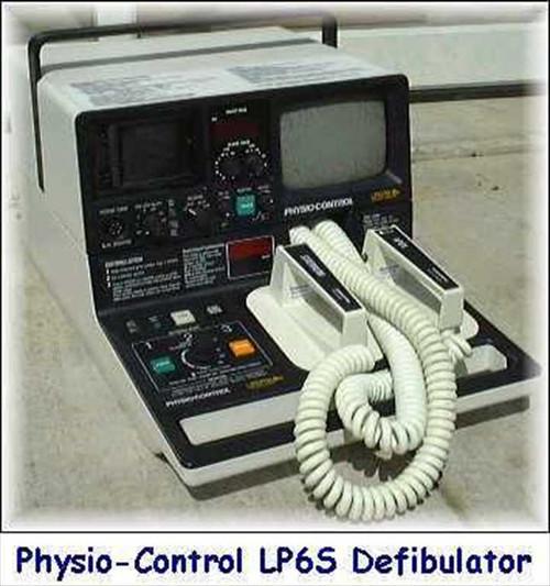 Physio-control Lifepak 6s  Cardiac Defibrillator