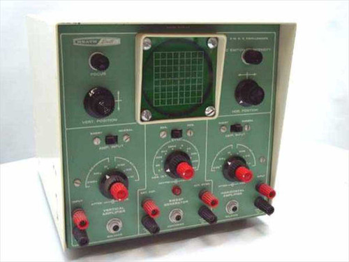 "Heath EUW-25  3"" DC Oscilloscope - Science Series - Vintage"