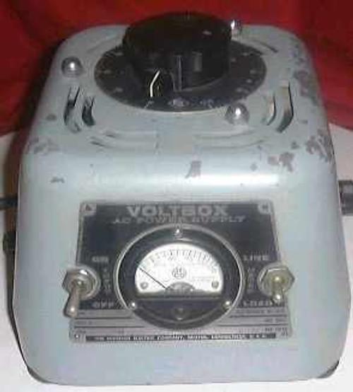 Voltbox 150 Vac  AC Variac 0-140v, 7.5 amp max.