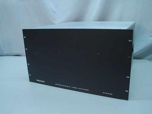 Vindicator PVS-648  Programmable Video Switcher