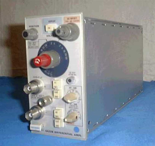 Tektronix 5A22N  Differential Amplifier, 1Mhz, Plug In