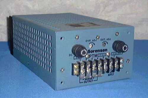Sorensen PTM 15-5.5  14.2-15.8 Vdc 5.5 Amp DC Power Supply