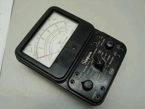 Simpson 260 series AFP-1  Volt-Ohm-Milliammeter As-Is
