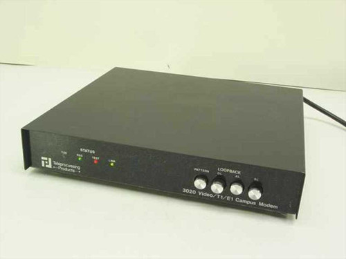 Teleprocessing Products Video/T1/El Campus Modem (3020/61)
