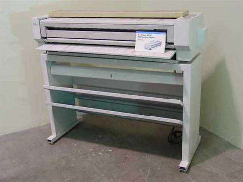 Xerox 2510  Xerox 2510 Engineering Copier w/Manual- Parts