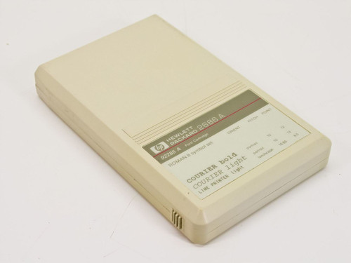 HP 92286A  Courier Font Cartridge