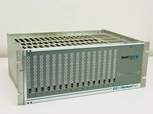 MultiTech Systems CC916  Modem Rack/16-Slot 9600 bps V.32 Dial-up