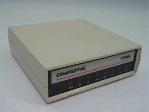 Compudyne 2400E  External Modem 2400 baud
