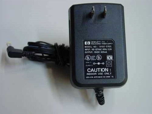 HP 9100-5165  AC Adapter 13 VDC 625mA for J2591A