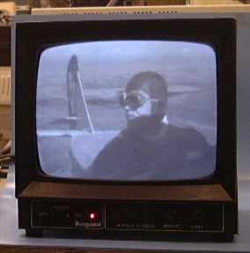 "Ikegami PM-930A  9"" B/W Video Monitor BNC 120VAC 60Hz"