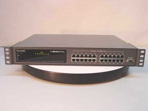 ASANTE IntraSwitch 6224  24 Port Switch 10 MPS w/remote management