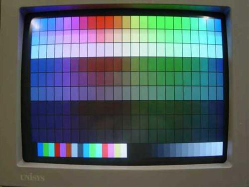"""Unisys VDC 1-VGA  14"""" VGA 640x480 Monitor"""