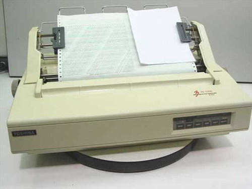 Toshiba P351  3-in-One Dot Matrix printer w/tractor feed P/S por