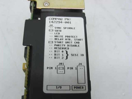"Compaq 144290-001  2.1GB 3.5"" SCSI HH Hard Drive 50 Pin - Seagate ST1"