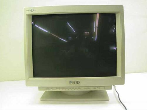 """SDIS CM2199MSD  21"""" Color Monitor FX21E for SUN w/ serial"""